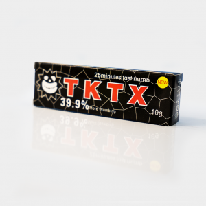 Anesthetic cream – TKTX 39.9 %